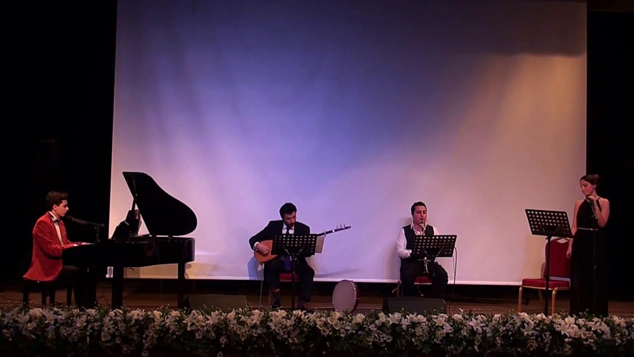 MİHRİBAN Türkü Türk Halk Müziği Vokal Bağlama Klarnet Piyano Dörtlüsü PiyanoTürk Müzik Grup Konseri
