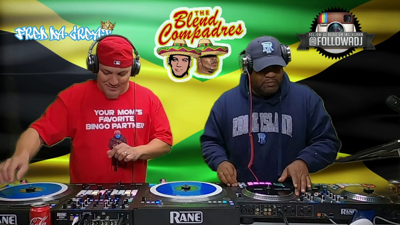 Download Episode 6: Dancehall, Roots , Reggae - meet- HipHop  ( The Blend Compadres) Unrehearsed