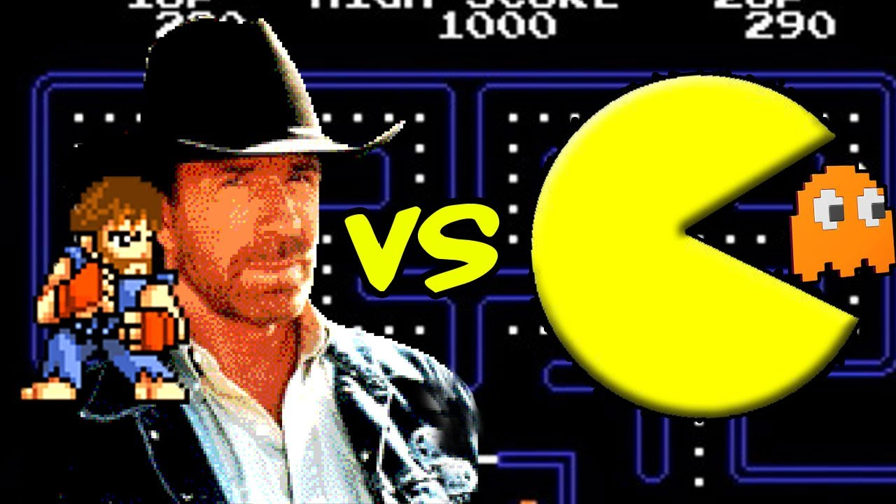 Image result for chuck norris 8-bit