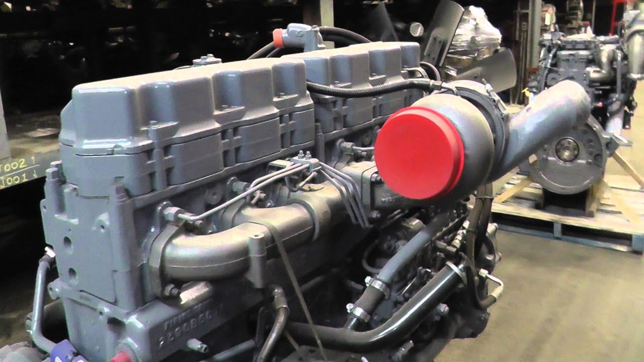 Engine Mack E7 Em7 350 Hp Profleet Reman Stock