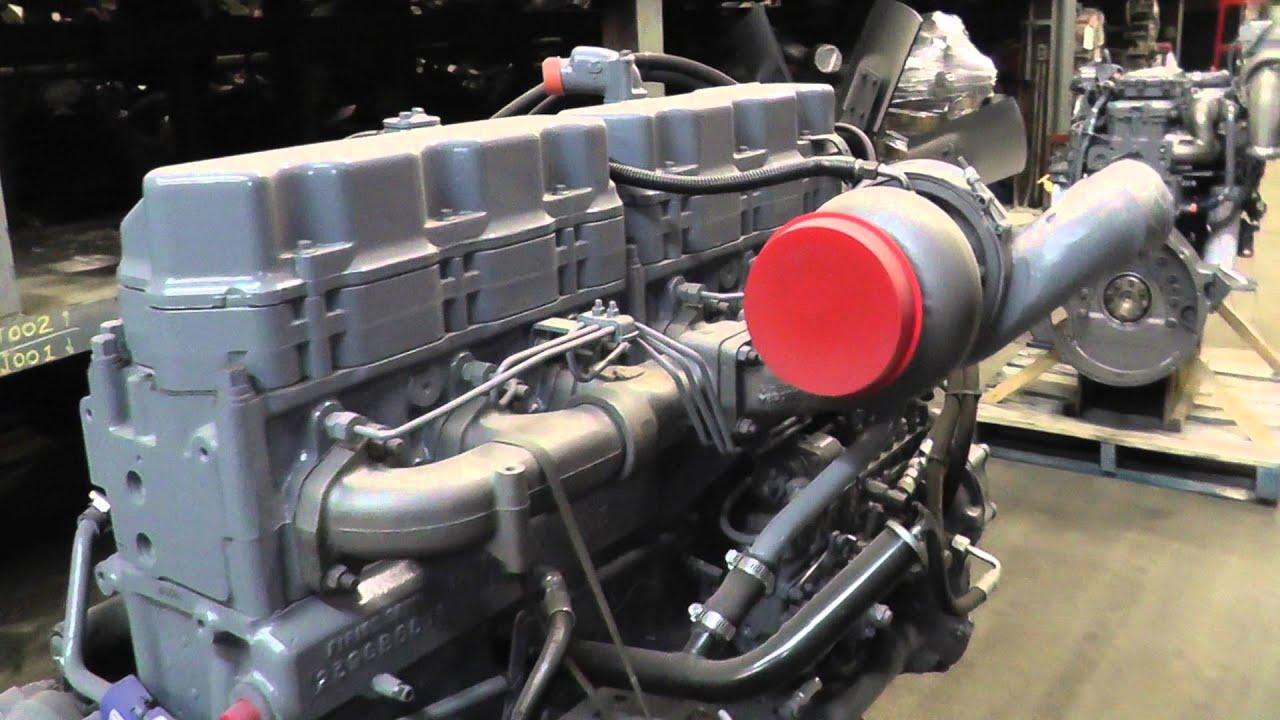 Engine Mack E7-EM7, 350 HP, Profleet REMAN, Stock #1A1E43381 -Lussier  Centre du Camion