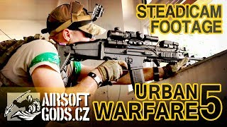URBAN WARFARE 5 (airsoft event) [steadicam footage]