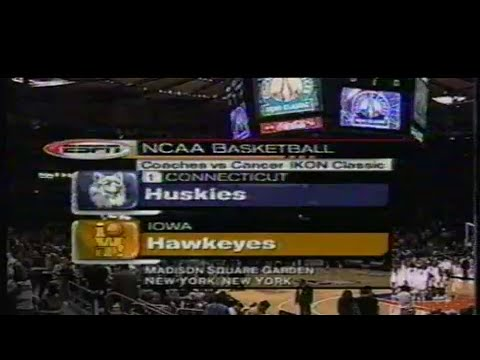 1999/00 NCAA BB: #1 UConn vs. Iowa / Season Opener