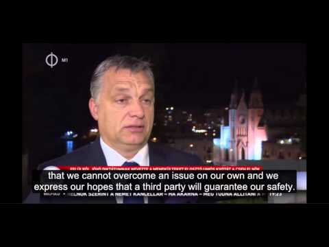 Interview with Hungarian PM Viktor Orban about the results of the EU-Africa summit in Valetta