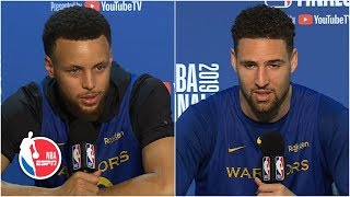 Klay says Kevin Durant is above and beyond a 'splash brother' with his ability | 2019 NBA Finals