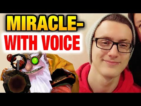 MIRACLE- WITH VOICE [2Games] This is Dota 2