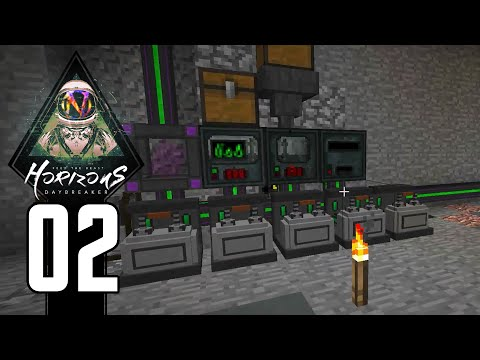 FTB Horizons Daybreaker - 02 - Digital Miner vs. EE3