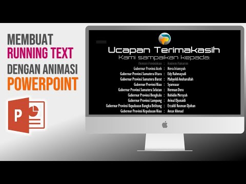 Cara Membuat Animasi Running Text Multi Fungsi Di PowerPoint