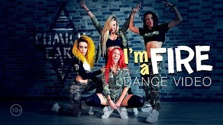 Смотреть клип Combat Cars - IM A Fire | Dance Video