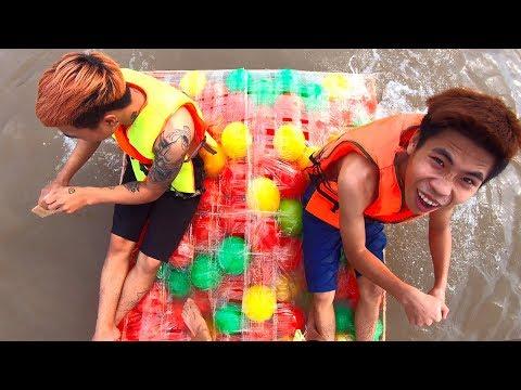 NTN - Thuyền 100 Quả Bóng Nhựa (100 Plastic Balls Boat)