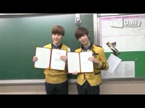 [TVDAILY] Boyfriend's Youngmin and Kwangmin graduation interview cut