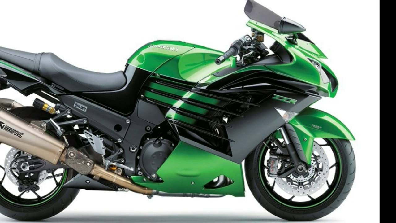 2016 Kawasaki ZZR1400 loses 10 hp to Euro 4 - YouTube