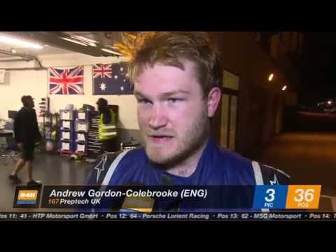 Hankook 24H CIRCUIT PAUL RICARD 2016 - Preptech UK - Andrew Gordon-Colebrooke Interview