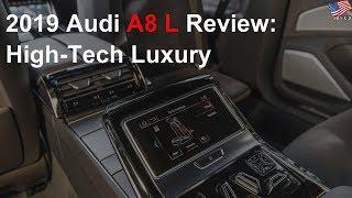 2019 Audi A8 L review: High-tech luxury