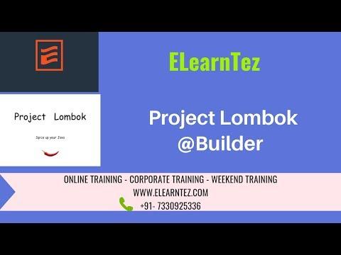 Project Lombok @Builder