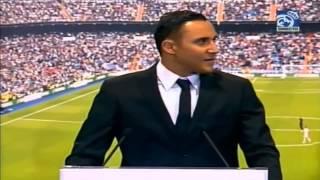 Presentación Keylor Navas en el Real Madrid (1/2)