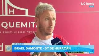 Damonte, la complicación para incorporar, la llegada de Grimi y el equipo para el debut