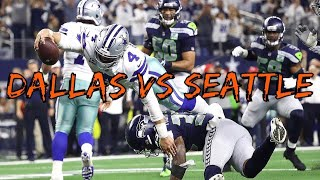 NFL Wildcard Dallas vs Seattle Highlights 2019