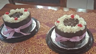 Download Video DEKORASI MINI BLACKFOREST - COKLAT PAGAR - CAKE STYLE MP3 3GP MP4