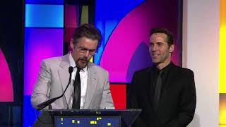 Ethan Hawke wins Best Actor for FIRST REFORMED at the Gotham Awards 2018