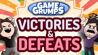Game Grumps VICTORIES & DEFEATS Compilation!