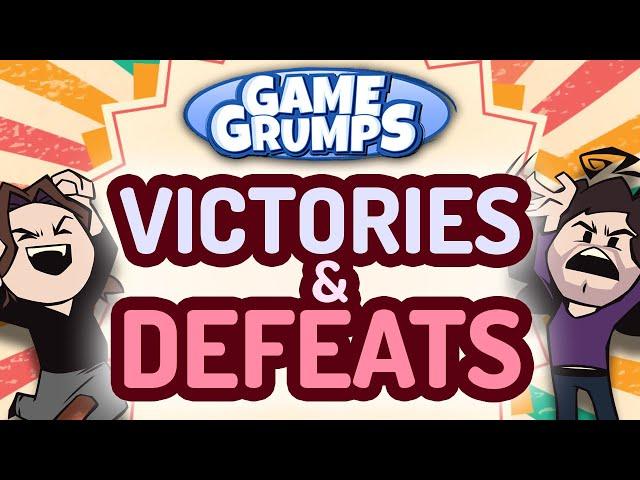Game Grumps VICTORIES & DEFEATS Compilation!