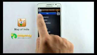 Map of India - GPS Navigation System for Android Devices