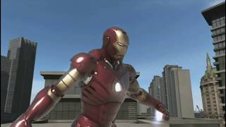 Iron Man Xbox 360 Gameplay Part 9 - On Defense