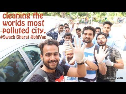 स्वच्छ भारत अभियान | Let's Clean Delhi !!