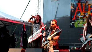 Alestorm - Festival Siembra Y Lucha 2013 - The Quest + The Sunk