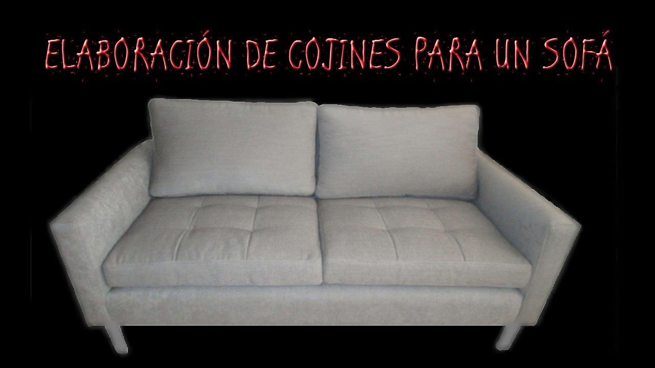 Como Hacer Fundas Para Cojines De Sofa.Elaboracion De Cojines Para Sofa