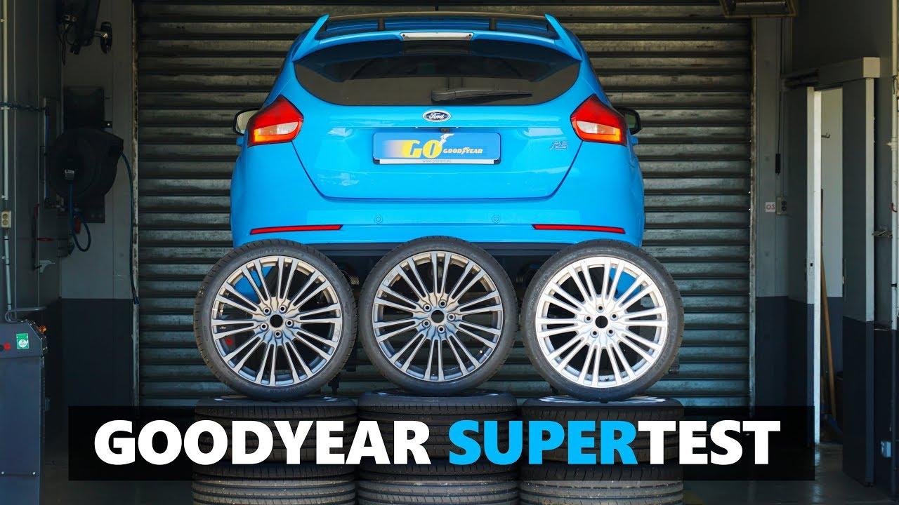 Download Goodyear Eagle F1 Asymmetric 5 vs F1 SuperSport  vs SuperSport R - Tested