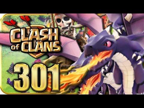 Let's Play CLASH of CLANS Part 301: Die Drachen-Ballon-Taktik