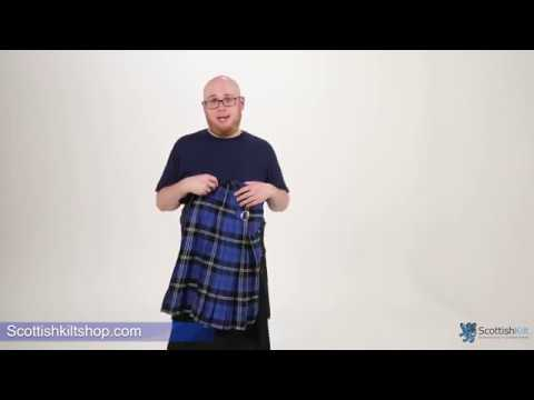 Blue Ramsay Tartan Kilt - Scottish Kilt