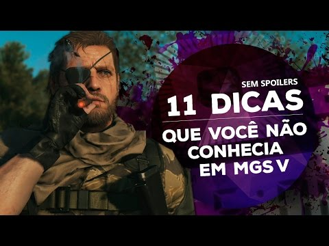 [DESAFIO!] 11 dicas que você não conhecia em Metal Gear Solid V: The Phantom Pain