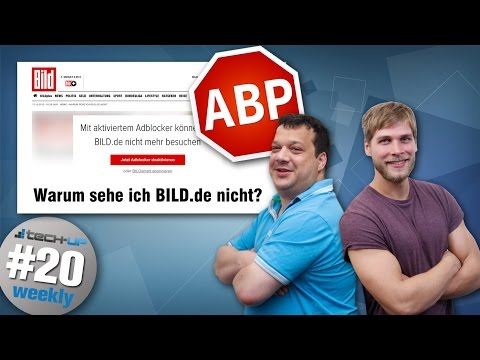 Bild sperrt Adblocker | Geek bastelt Thor-Hammer | Killer-USB-Stick - Tech-up Weekly #20