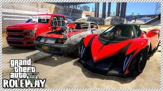 GTA 5 Roleplay - Drag Racing Event & Huge Car Meet | RedlineRP #100 Live