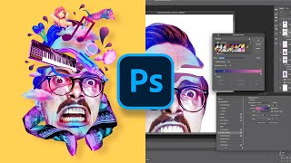 Digital ART PROCESS Photoshop | Deh Andre