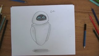How To Draw: Eve from Wall-E