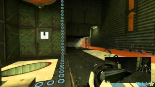 "Portal 2 Co-Op Walkthrough - Atlas: ""Mobility Gels"" Course 5 Chamber 8"