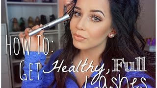 ♡How To Get Healthy, Full Lashes♡ | My Experience With Infinite Lash!
