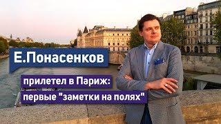 """Е. Понасенков прилетел в Париж: первые """"заметки на полях"""""""