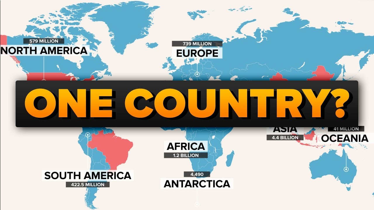 What If The World Was One Country?
