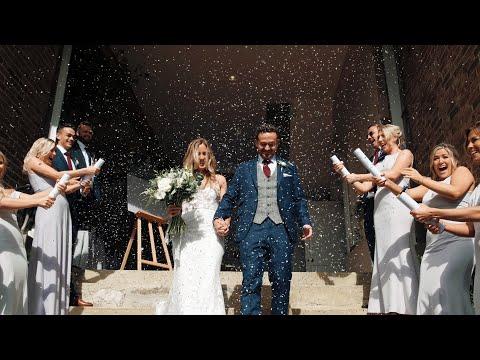 Wedding at Bury Manor Barn | Alice & Ollie's Wedding Video