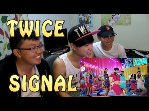 Thumbnail: TWICE(트와이스) - SIGNAL MV Reaction [TINGLING TINGLING!]