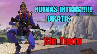 New Intros De Fortnite for Youtube, No Text!!!! / Without text/ without copyright.