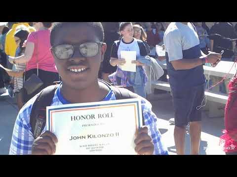 Kolb Middle school graduation ( class of 2019)