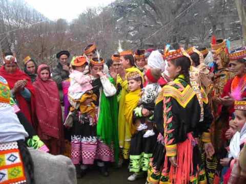 Dance in Krakal Kalash Chitral Part-1