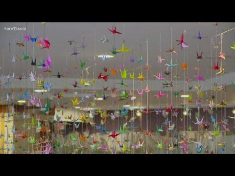 Minneapolis-hospital-chaplain-receives-16000-paper-cranes