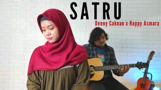 Download SATRU - Denny Caknan X Happy Asmara Cover By Teman Santai